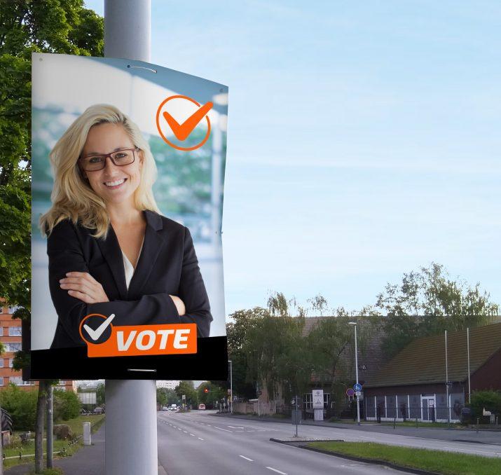 Wahlwerbung für die Kommunalwahl und die Landtagswahl gestalten (3)