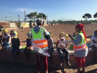 SAXOPRINT spendet Gesichtsvisiere für Menschen in Südafrika (2)